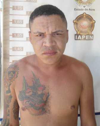 """Ewerton Lima de França (26), vulgo """"Casquinha"""", homicida e assaltante"""
