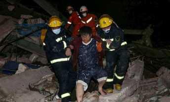 Mais de 70 pessoas viviam no hotel Foto: STR / AFP