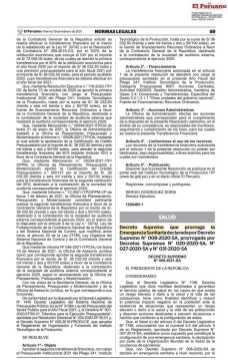 Decreto Peruano amplia prazo de fechamento da fronteira_01