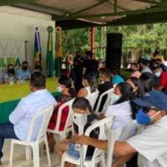 Evento no Parque Ecológico Nordesta. Foto Assessoria Sema