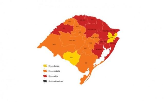 Nova rodada do Distanciamento Controlado coloca 9 regiões em bandeira vermelha