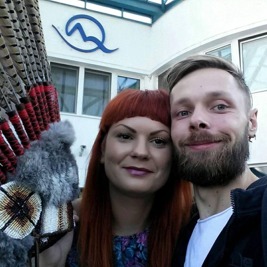 Anna Čurlejová si Vladimír Škrada, creatorii brandului Čarbičková design