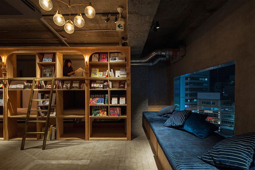 Hotelul-librarie din Tokyo5