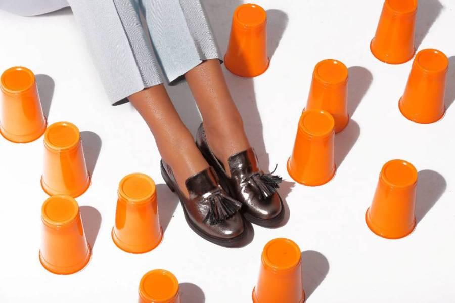 Pantofi franjuri