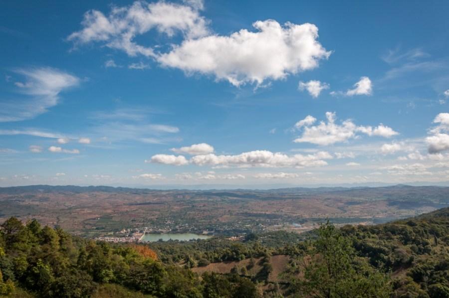 Vedere din Muntii Pindaya_Myanmar