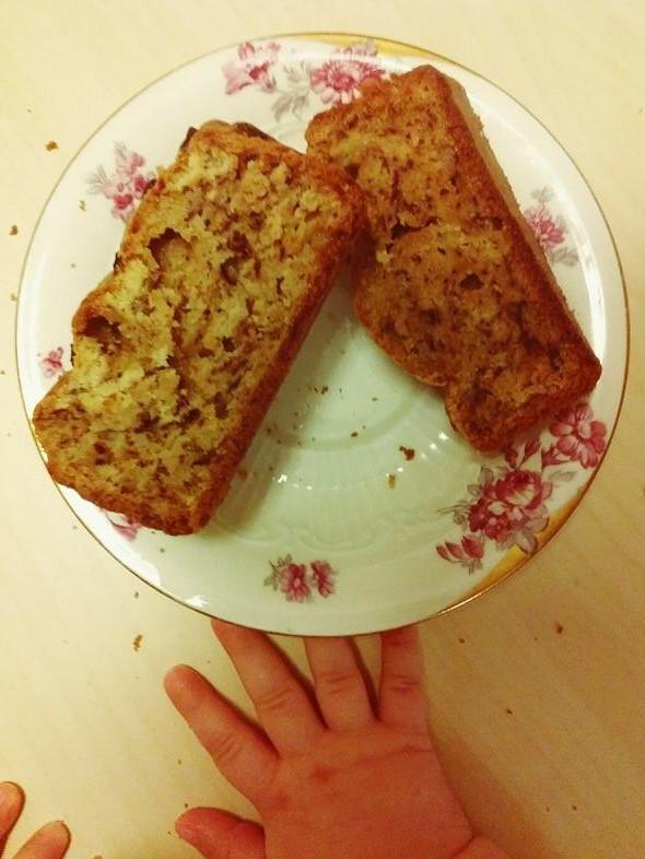 #Gastro. Banana bread fara zahar