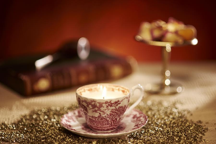 2. Cup & Candle_portelan englezesc Myott_4 bucati