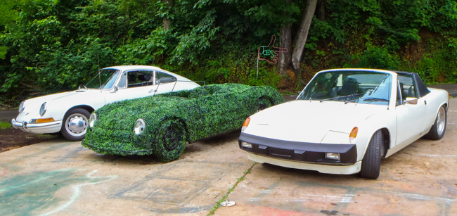 Joe Kyte Topiary Joe cars