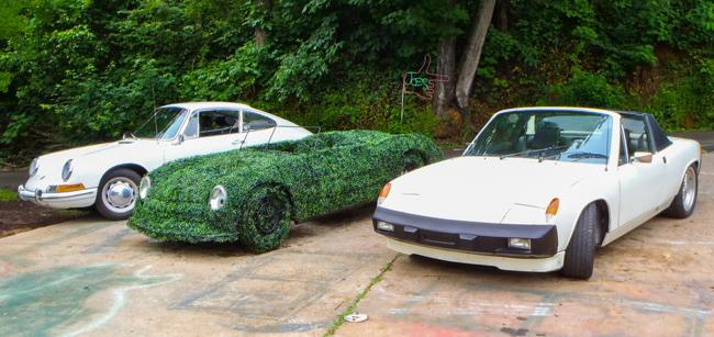 Joe Kyte Topiary Joe cars