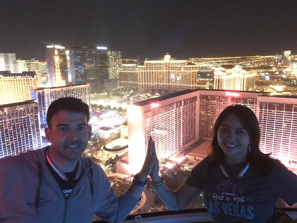 Wanita and Eduardo in Las Vegas