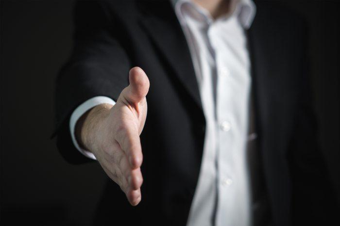 Leadership Handshake Oana Harrison blog