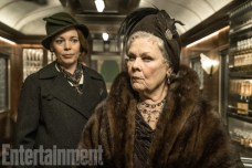Murder on the Orient Express (2017) Olivia Colman, left, and Judi Dench