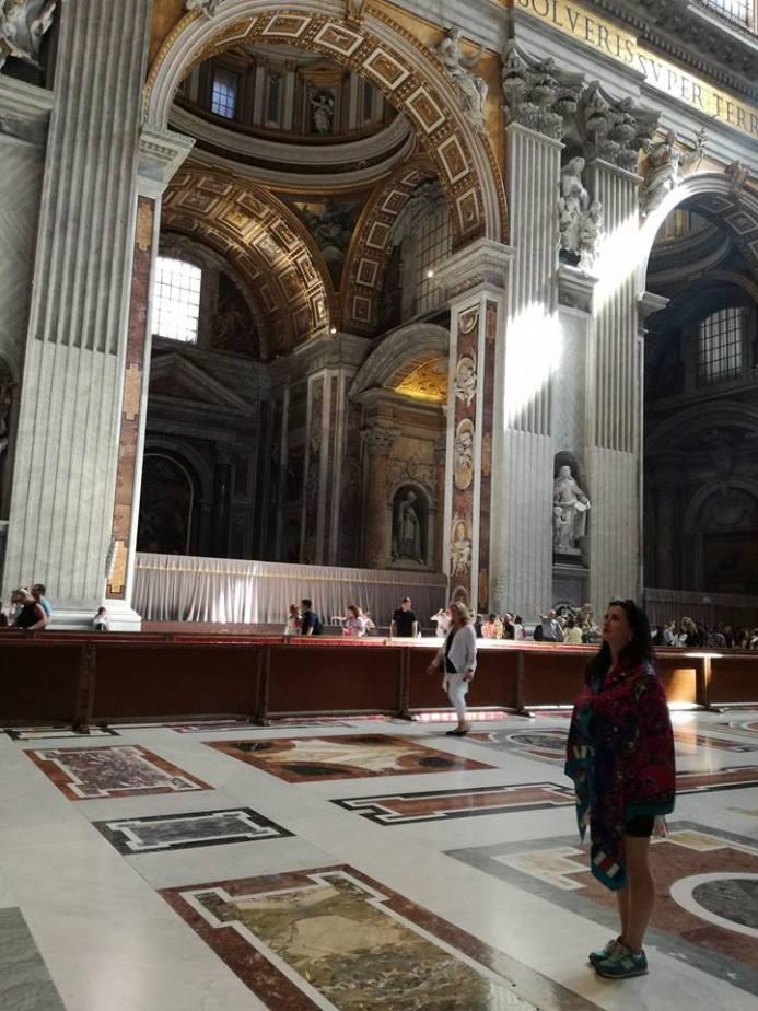 În Basilica Sf. Petru