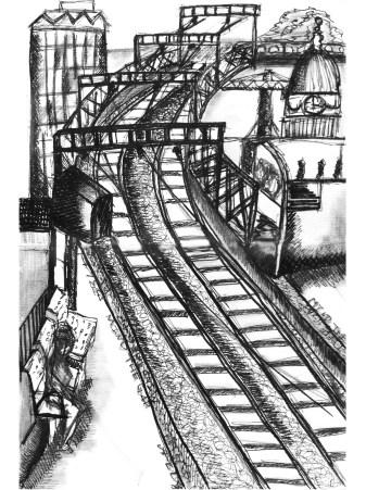 Tara Train Station