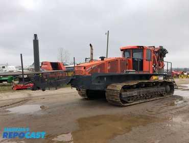 repocast com 2014 bron 550 drainage tile plow