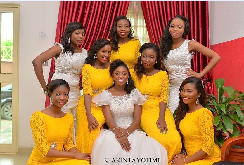 [Latest!] Bridesmaid Dresses In Nigeria For Weddings