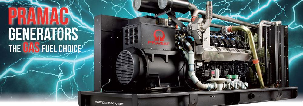 Pramac Gas Generator