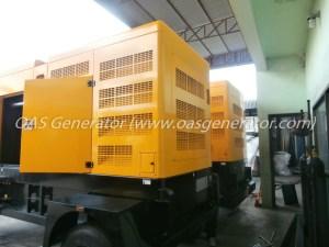 เครื่องกำเนิดไฟฟ้า 250 kVA Trailer - ATS สายไฟ ทหารเรือ-1