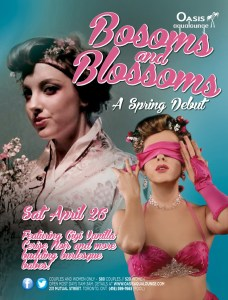 BOSOMS AND BLOSSOMS - WEB