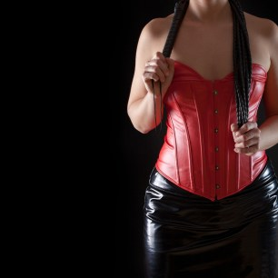 Wear some leather/latex for fetish event