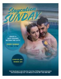 Staycation Sunday