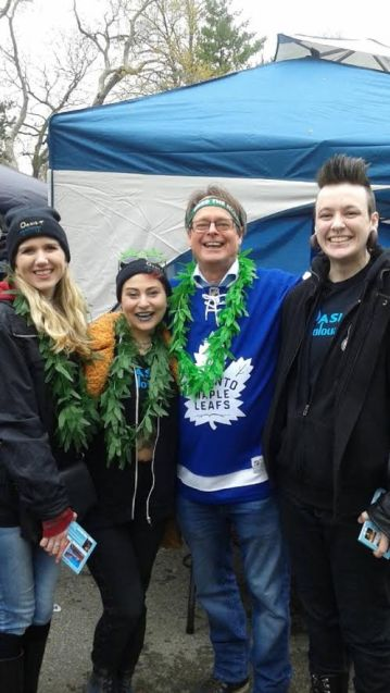 The AquaFlirts with Marc Emery