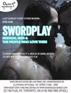 Swordplay; Bisexual Men & Their Lovers