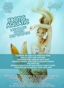 Erotic Aquatic; Last Splash of 2018