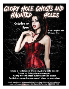 Glory Hole Ghosts & Haunted Holes