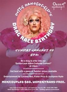 Dottie Dangerfield's Drag Race Birthday