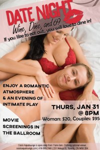 Date Night: Wine, Dine & 69