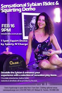 Sensational Sybian Rides & Squirting