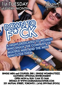 Down to Fuck - 1st Tuesday Every Month