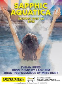 Sapphic Aquatica: Spa and Social for Women &  Trans Folx