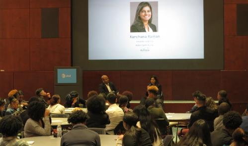 Ms.Kanchana Raman Answers students' questions