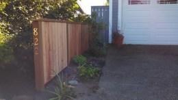 Driveway Fence