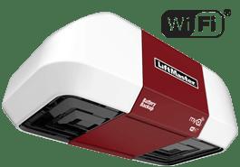 LiftMaster 8550W Elite Series® DC Battery Backup Belt Drive Wi-Fi® Garage Door Opener
