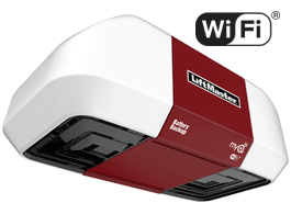 LiftMaster 8550W Elite Series® DC Motor, Battery Backup Belt Drive Wi-Fi® Garage Door Opener