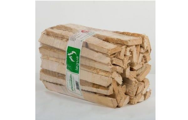 imagen fajo de leña delgada 18 litros