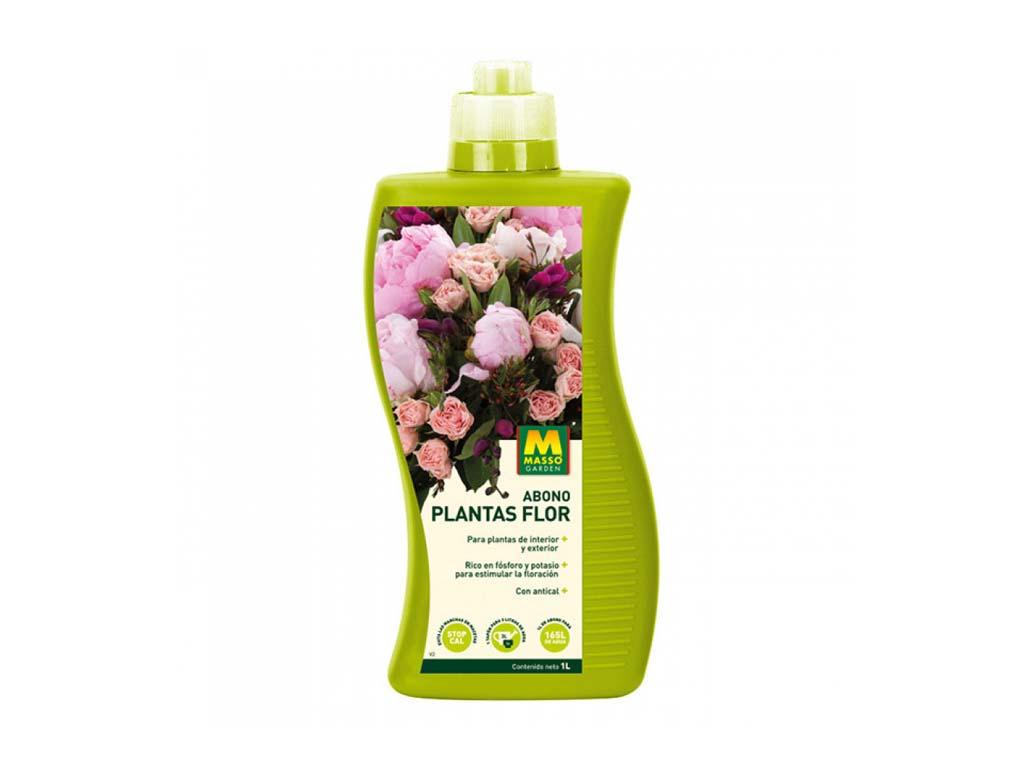 imagen abono plantas flor 1 litro massó garden
