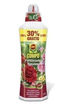 imagen fertilizante rosales 1300 ml compo