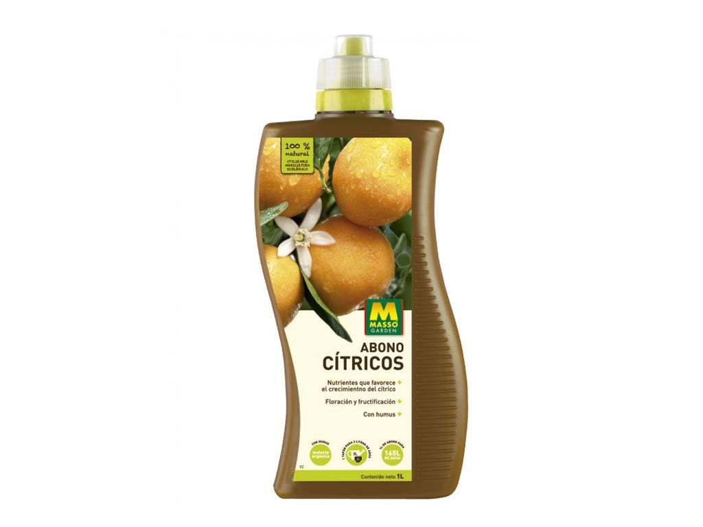 Abono cítricos Bio 1 litro Massó Garden