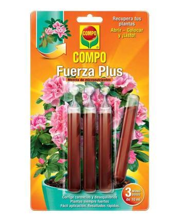 imagen Fuerza Plus 3x10 ml corrector de carencias Compo