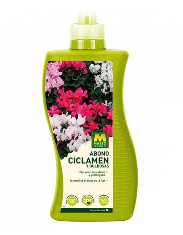 imagen Abono cyclamen y bulbosas 1 litro Massó Garden