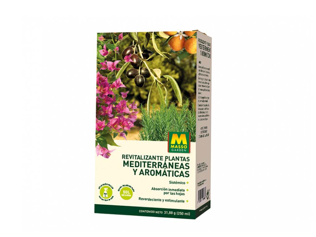 imagen Revitalizante mediterráneas y aromáticas 250 ml Massó Garden