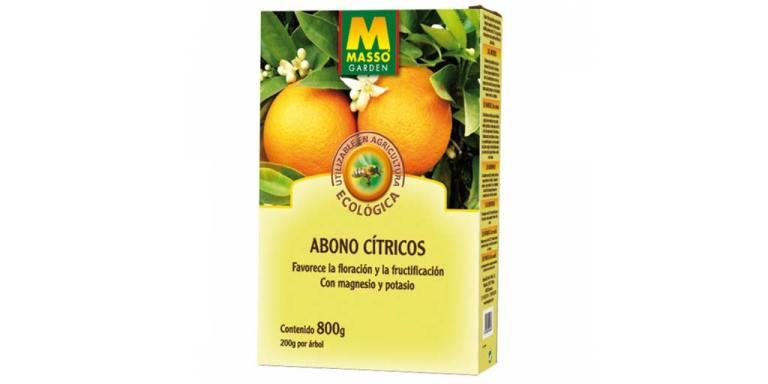 imagen abono citricos bio 800 g massó garden