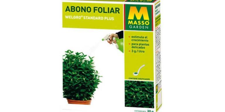 imagen abono foliar welgro 30 gr. Massó Garden