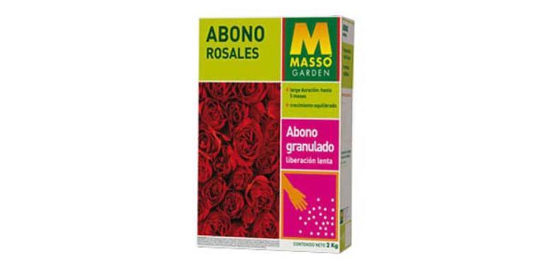 imagen abono rosales 2 kg Massó Garden