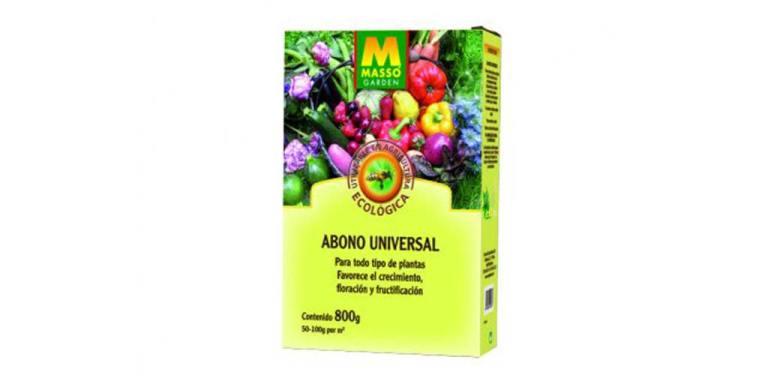 imagen abono universal bio 800 g massó garden