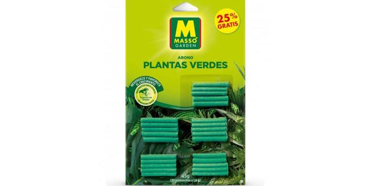 imagen bastoncitos fertilizantes plantas verdes massó